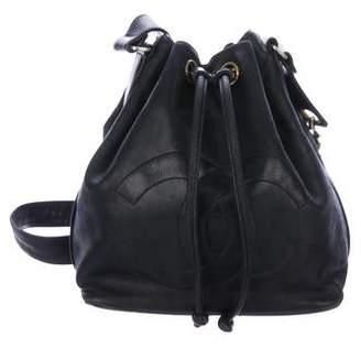 Chanel Lambskin Bucket Bag