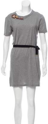 Louis Vuitton Embellished T-Shirt Dress