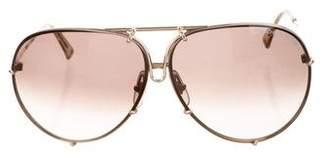 Carrera Porsche Aviator Tinted Sunglasses
