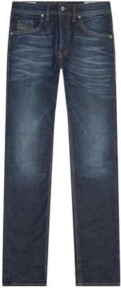 Diesel Heavy Wash Skinny Jeans