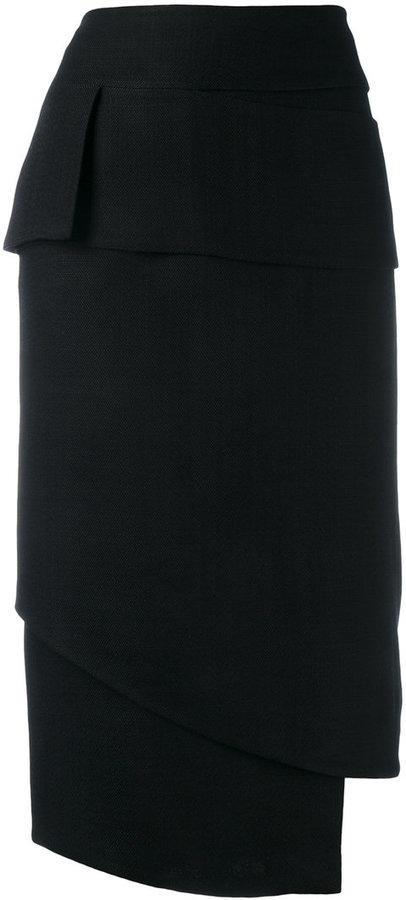 Tom Ford asymmetric skirt