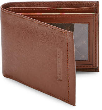 Perry Ellis Portfolio Jackson Leather Removable ID Passcase Wallet
