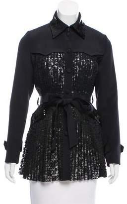 Huishan Zhang Embellished Lace Jacket