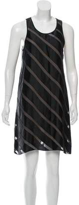 L'Agence Sleeveless ,Mini Dress