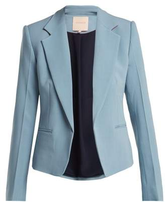 Roksanda Indo Tailored Blazer - Womens - Light Blue