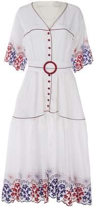 Gül Hürgel White Linen Dresses