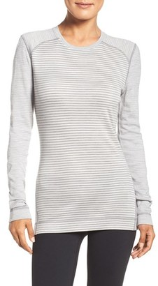 Smartwool 'NTS Mid 250' Patterned Merino Wool Crewneck $105 thestylecure.com