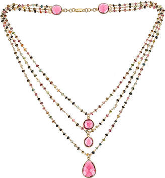 Forever Creations USA Inc. Forever Creations 93.00 Ct. Tw. Multicolor Tourmaline Necklace