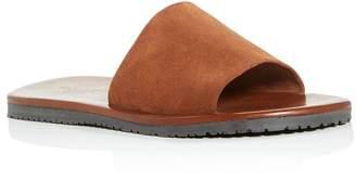 Bloomingdale's The Men's Store at Men's Suede Slide Sandals - 100% Exclusive