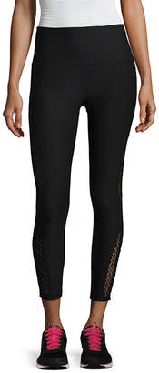 Xersion Lace Inset 7/8 Legging - Tall Inseam 26.5