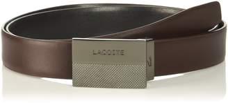 Lacoste Men's Classic Plate Buckle Belt