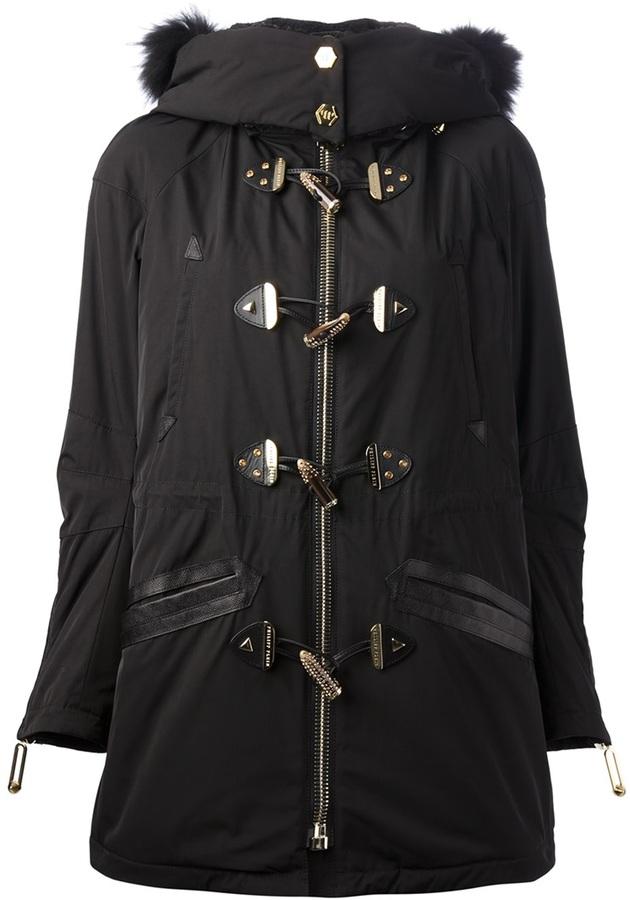 Philipp Plein toggle coat