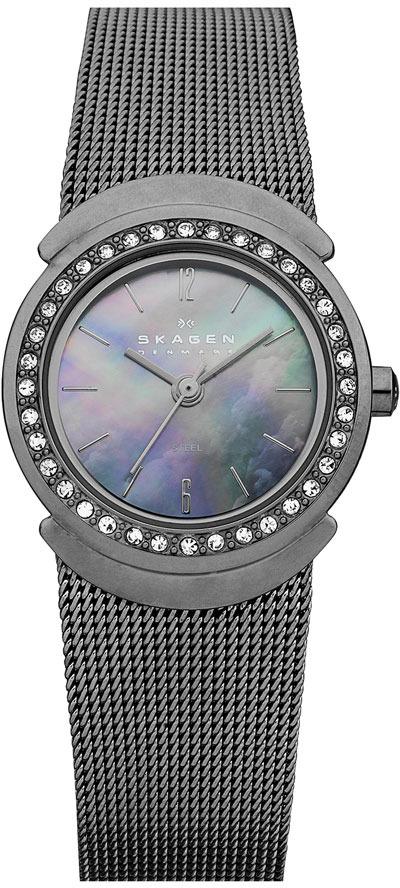 Skagen Round Mesh Strap Watch, 26mm