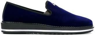 Giuseppe Zanotti Design logo slippers