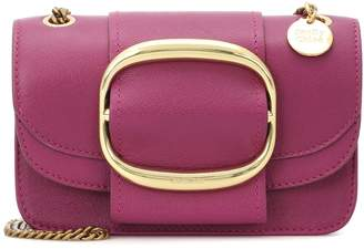 See by Chloe Hopper Small leather shoulder bag