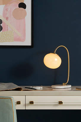 Anthropologie Pearl LED Table Lamp