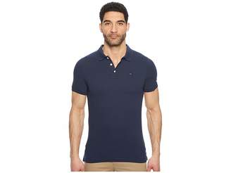 Tommy Jeans Slim Fit Flag Polo Shirt
