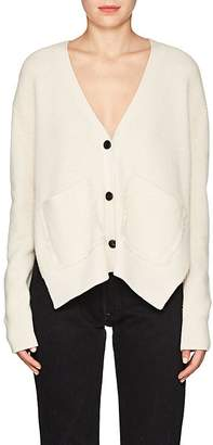Proenza Schouler Women's Rib-Knit Cotton-Blend Cardigan