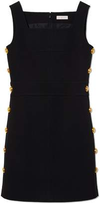 Tory Burch SIDE-BUTTON SHIFT DRESS
