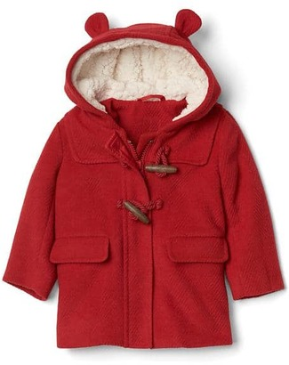 Cozy bear duffle coat $68 thestylecure.com