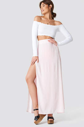 Debiflue X Na Kd High Side Slit Long Skirt