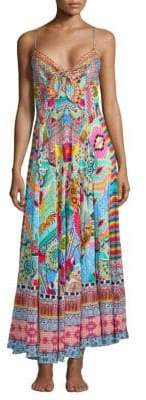 Camilla From Rio With Love Silk Maxi Dress
