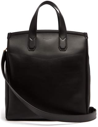 Dunhill Duke leather tote