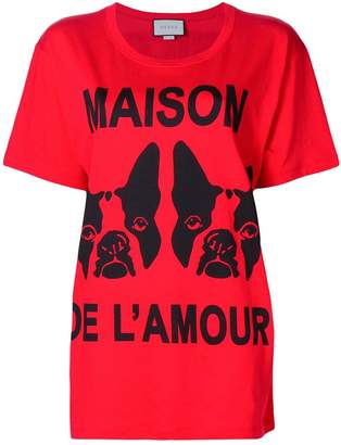 Gucci Maison de l'Amour T-shirt