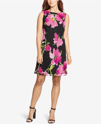 American Living Floral-Print Shift Dress $79 thestylecure.com