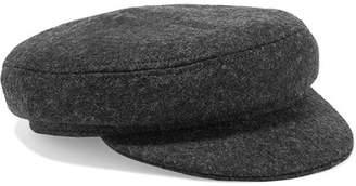 Isabel Marant Evie Wool-blend Felt Cap - Gray