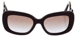 Prada Baroque Square Frame Sunglasses