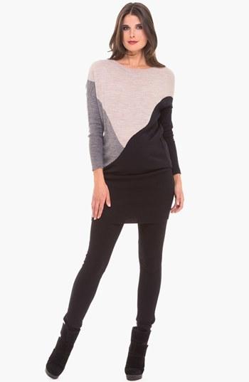 Olian Sweater Tunic Maternity Dress