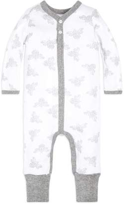 Burt's Bees Baby Snuggle Bee Snap Front Organic One Piece Jumpsuit