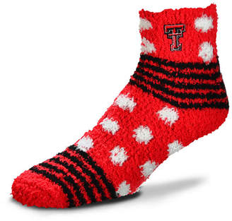 For Bare Feet Texas Tech Red Raiders Homegater Sleep Soft Socks