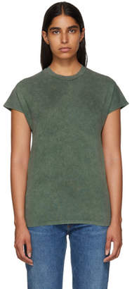 Won Hundred Green Proof Acid Cap Sleeve T-Shirt