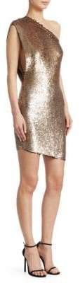 IRO Asymmetric Sequin Dress