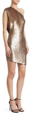 IRO Asymmetric Sequin Dress