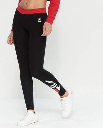 Fila Madison Logo Cotton Leggings
