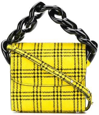 Marques Almeida Marques'almeida Tartan Chain mini bag