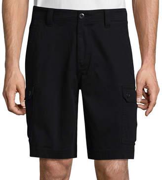 ST. JOHN'S BAY Mens Mid Rise Cargo Shorts