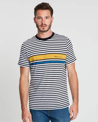 Paul Smith Regular Fit Stripe T-Shirt