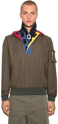 J.W.Anderson Half Zip Funnel Neck Cotton Jacket