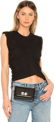Alexander Wang High Twist Crop Top