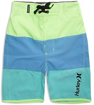 Hurley Boys' Triple Threat Color Block Board Shorts - Little Kid