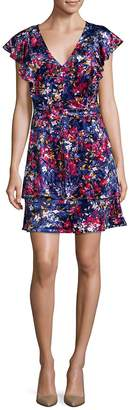 Parker Women's Floral-Print Tiered Dress
