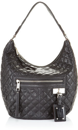L.A.M.B. Lucille Quilted Hobo, Jet