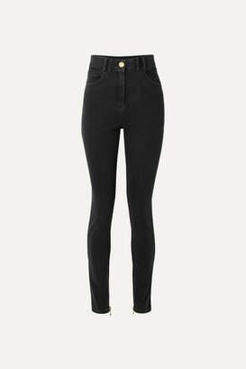 Balmain High-rise Skinny Jeans - Black
