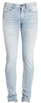 Saint Laurent Low-Waist Skinny Jeans