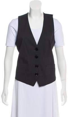 Dolce & Gabbana Tailored Pinstripe Vest