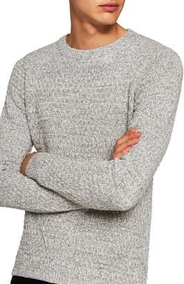 Topman Textured Crewneck Sweater